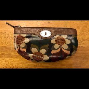 Fossil Key-Per Cosmetic Bag